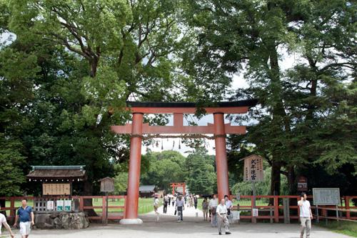 上賀茂神社 - 一ノ鳥居