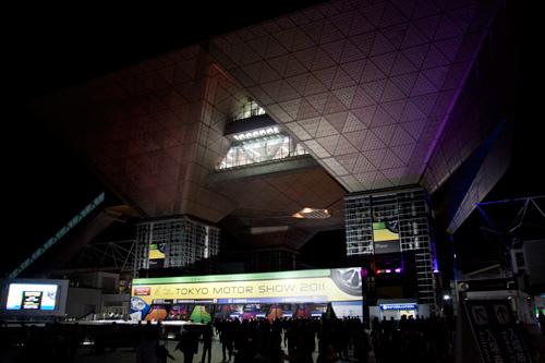 東京モーターショー2011 ビックサイト外観