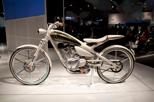 ヤマハ Y125MOEGI - Concept