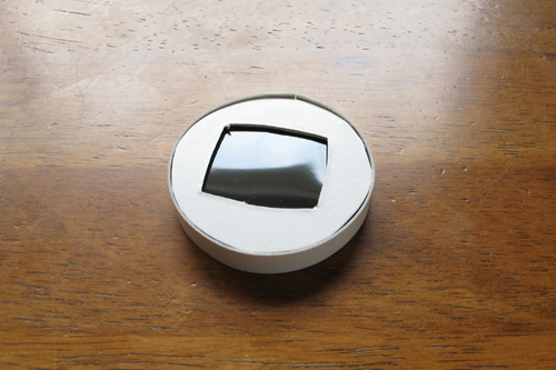 自作のCanon G7用日食フィルター