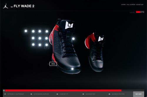 Jordan Fly Wade 2 Basketball Shoe