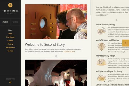 Second Story Interactive Studios | Interactive Media Design & Development