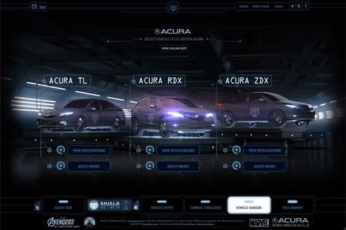 Acura / Avengers