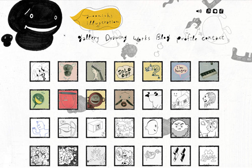 YO ONISHI / 大西 洋(オオニシヨウ) ILLUSTRATION