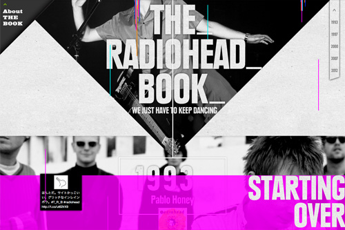The RADIOHEAD BOOK - Special Site : Marble Books