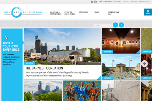 With Art Philadelphia™ – Curate Your Own Experience