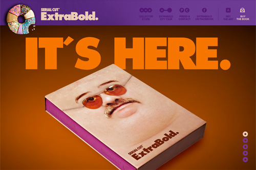 ExtraBold. | It's here | Serial Cut™