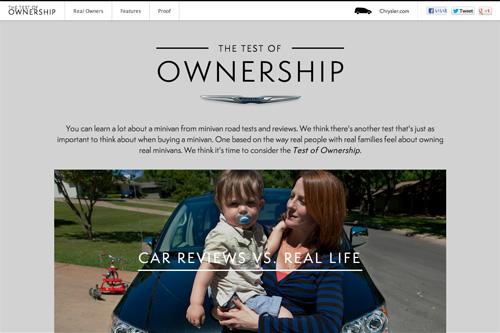 Chrysler: Test Of Ownership