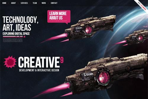 Creative9 - Development & Interactive Design