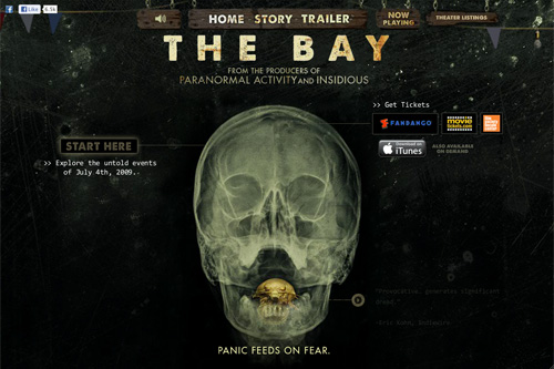 THE BAY IN THEATERS NOV 2