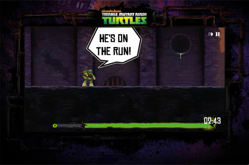 TMNT - Sewer Run