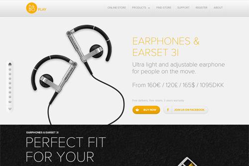 Earphones & Earset 3i
