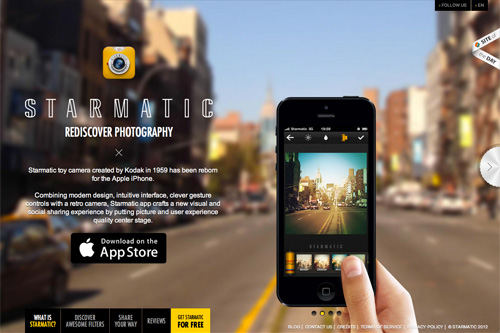 Starmatic - Rediscover Photography