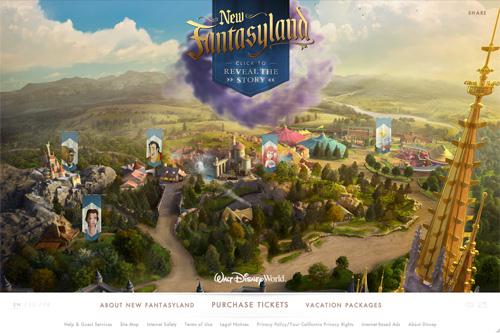 New Fantasyland | Walt Disney World Resort