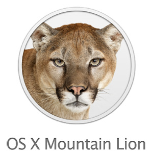 Mac OS X Mountain Lion ロゴ