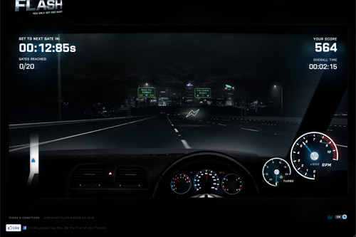 Flash - Driving Game