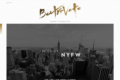Ben Trovato - Fashion Editorial Magazine
