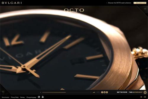 BVLGARI OCTO watches