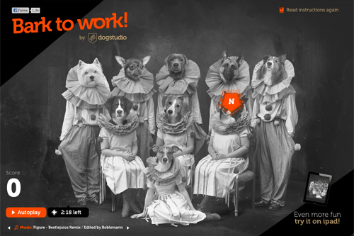 Bark to work by Dogstudio