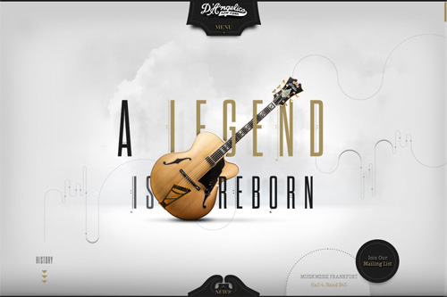 D'Angelico Guitars A Legend is Reborn