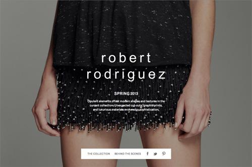 Spring 2013 | Robert Rodriguez