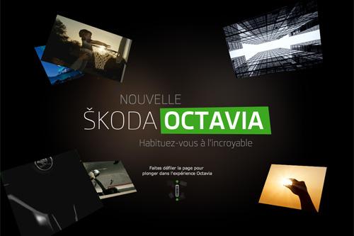 NOUVELLE ŠKODA OCTAVIA - Habituez-vous à l'incroyable