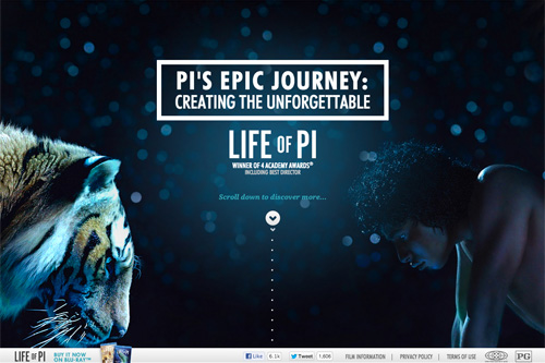Pi's Epic Journey - LIFE OF PI on Digital HD