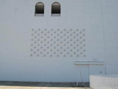 青森県立美術館 外壁