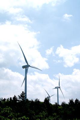 青森のどこかにある風車 その2