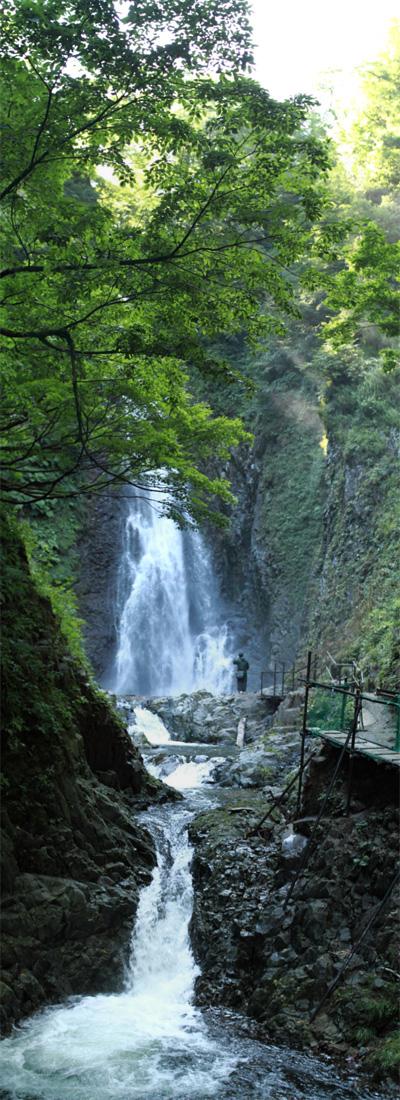 暗門第一の滝