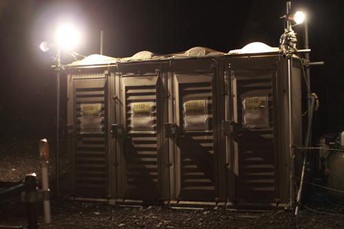 六合目仮設トイレ