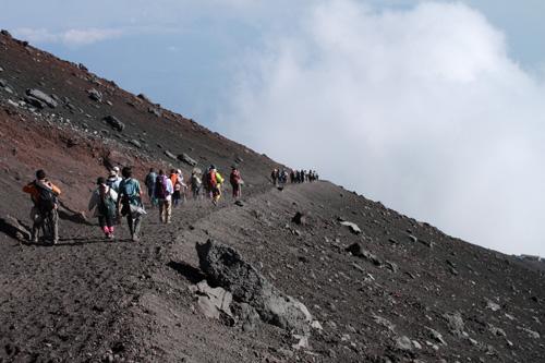 富士山 須走・吉田口下山ルート