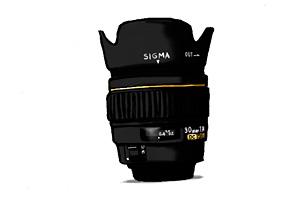 SIGMA 30mm F1.4 イラスト