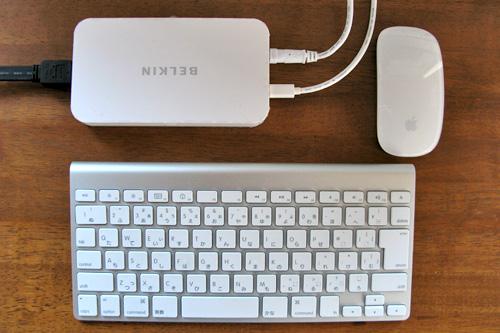 AV360 Mini DisplayPortコンバータのサイズ比較