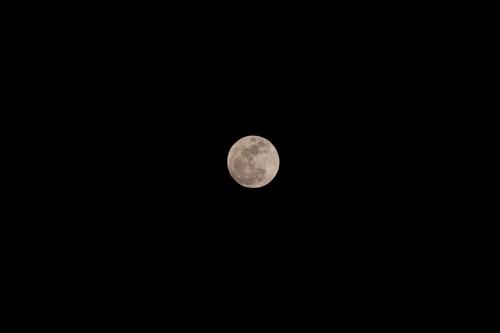 2010年2月28日の満月