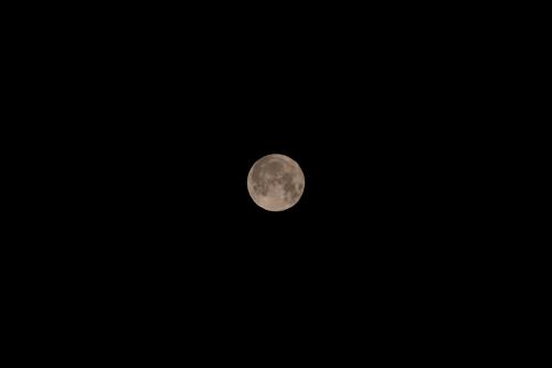 2011年3月20日の満月(スーパームーン)