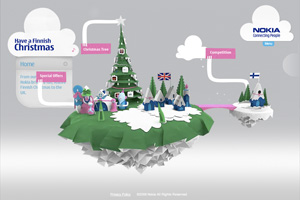 Mobile Phones - Vote for a Finnish Christmas - Nokia UK