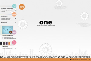 ONE BY GLOBE-TROTTER SUIT CASE COMPANY