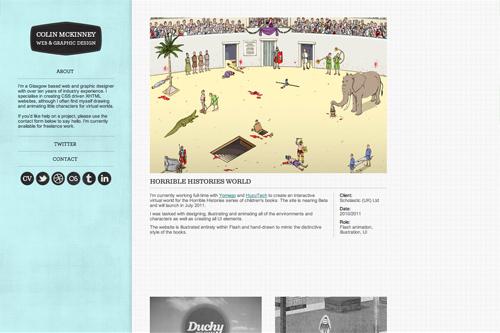 Colin McKinney | Web & Graphic Design