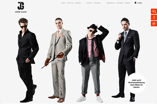 Jeremy Gleave – Tailored Business Suits / Massanzüge
