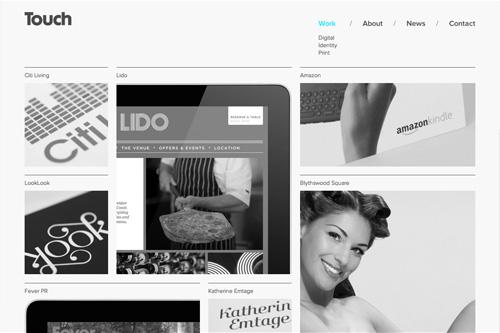 The Touch Agency Graphic Design Edinburgh