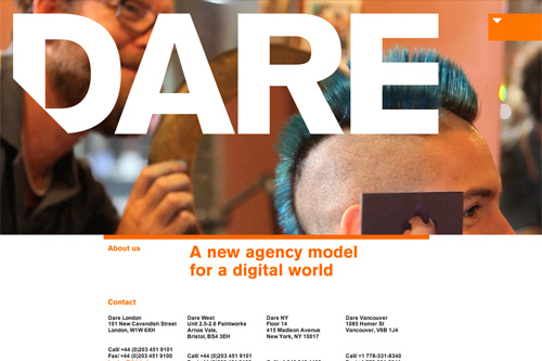 Dare | this is dare | a new agency model for a digital world