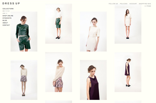 SS 11/12 | DRESS UP - By Stephanie Downey