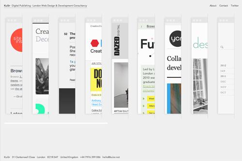 London web design and development consultancy, digital publishing | Kulör
