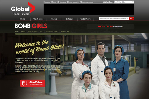 Bomb Girls - GlobalTV.com: Official Site of Global Television