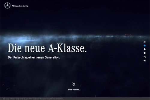 Mercedes-Benz – Die neue A-Klasse – 2012